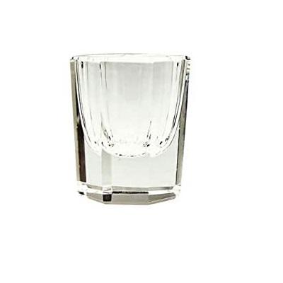 copa de vidrio para líquido acrílico